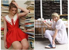 """A fresh take on inspiration for #Hannah's signature silhouette, plus stronger colors for a new season!"" Lena Dunham shared these Rachel Antonoff images with #GIRLS Costume Designer Jenn Rogien as inspiration for Season 2"
