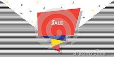 Illustration of deal - 95317240 Sale Banner, Web Banner, Bright Wallpaper, Catalog Cover, Romantic Cards, Sales Image, Futuristic Design, Shape Patterns, Brochure Design