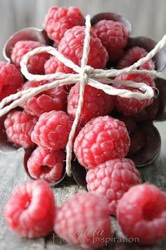 Love rich dark chocolate and sweet raspberries....