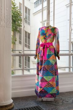 Yves SAINT LAURENT, haute couture, n°22640, Printemps - Eté 1969 Ensemble