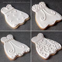 Bridal Shower Cookies | my kitchen addiction