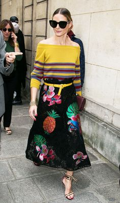 These Are Olivia Palermo's Favorite Pieces to Re-Wear via @WhoWhatWearUK
