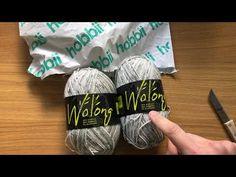 Unboxing: Wolvrije sokkengaren Wolong van Hobbii, acryl, bamboe, elastaan. Facial Tissue
