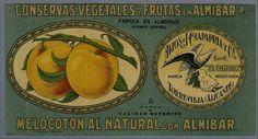[Etiquetas de alimentos.. Grabado — 1900-1950