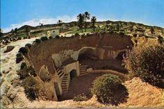 Coolest part of Tunisia were the underground homes