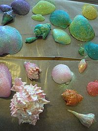 Give kids something to do this summer that's easy, yet affordable and leaves you without a mess! All the while, you can personalize your shell and easily use them to accent any room in the house!