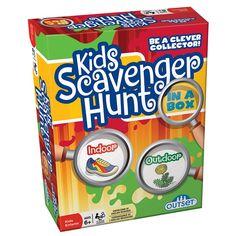 Outset Kids Scavenger Hunt In A Box, Multicolor