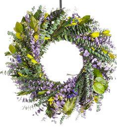 Spring Time Eucalyptus Wreath