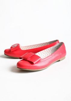 Eugina Indie Bow Flats  My ruby slippers