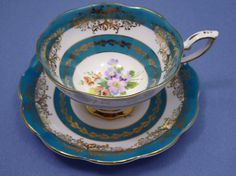 Vintage Royal Standard Tea Cup and Saucer Set by Thinkilikeit
