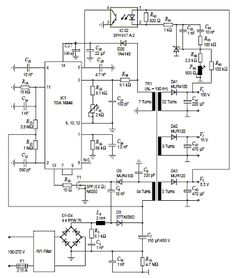 Multiple output switching power supply circuit #Schematic Diagram ...