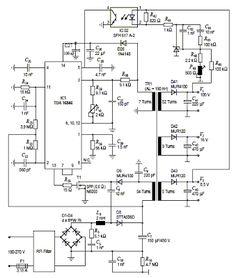 5v usb car charger circuit mc34063 stepdown dc dc converter Один из ариантов схемы импуРьсного источника питания на микросхеме tda16846