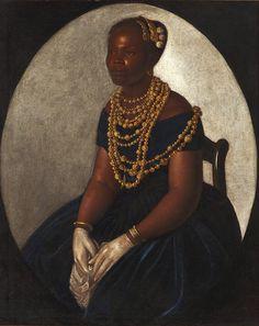 1850 MULLER DA BAHIA BRASIL( Woman from Bahía)Artist Unknown