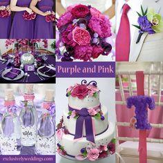 Are you the ultimate girly girl? This vibrant purple and fuscia theme is for you! -mw