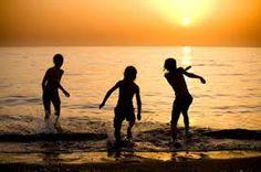 summer kids beach