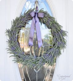 Summer Wreath via centsational girl