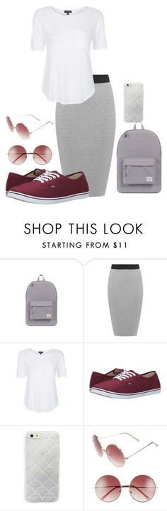 """""""Apostolic Fashion!!!"""" by babee-rikki on Polyvore featuring Herschel Supply Co., WearAll, Topshop, Vans, Sonix, A.J. Morgan, beapostolic and imamisfit"""