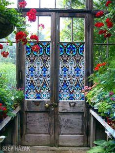 Üvegfestés másképpen - Szép Házak Online