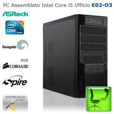 """PC Assemblato Intel Core i5 Ufficio """"E02-O3""""    http://www.e-key.it/prod-pc-assemblato-intel-core-i5-ufficio-e02-o3-37467.htm"""