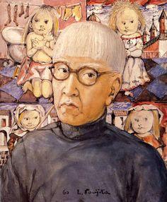 60 FOUJITA Bohemian Culture, Japanese Artists, World Traveler, Artist At Work, Painting & Drawing, Printmaking, Selfies, Illustrators, Westerns