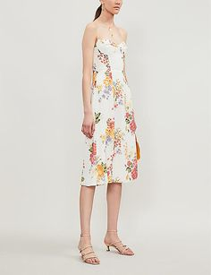 We can't imagine seeing the annual slew of summer snaps on Insta now without there being some strong Reformation representation. The LA brand has become known for two things: bright, bold designs and sustainability. Wood pulp sourced from protected forests is transformed into the crepe for the Juliette midi dress (tick), then you have the floral print and flattering fit (double tick) – no filter required. Selfridges London, Crepe Dress, Reformation, Awards, Floral Prints, Pretty, How To Wear, Forests, Sustainability