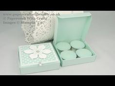 Linda Parker UK Independent Stampin' Up! Demonstrator - Papercraft With Crafty: Super sturdy Tealights Box Tea Light Candles, Tea Lights, Box Templates Printable Free, Hannelore Drews, Stampin Up, Licht Box, Candle Box, Envelope Punch Board, Craft Box