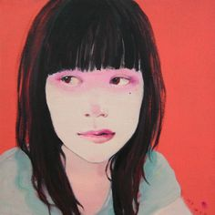 paintdeath: Self portrait by Christina Liu Portrait Inspiration, Online Gallery, Portrait Art, Figure Painting, Figurative Art, Female Art, Art Photography, Illustration Art, Drawings