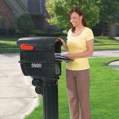 Step2 MailMaster Wrought Iron Plus Mailbox « Blast Groceries