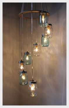 10 Ideas To Repurpose and Recycle Glass Jar For Décor  #homedecor #home #diy