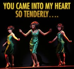 """The Supremes, as portrayed in Motown: The Musical."""""""