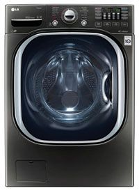 LG 4.5 Cu. Ft. Black Stainless Steel Front Loading Washer