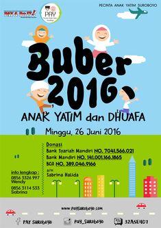 Event Poster Buka Bersama 2016 - PAY Suroboyo Event Posters, Event Poster Design, Movie Posters, Memes, Islamic, Dan, Film Poster, Animal Jokes, Film Posters