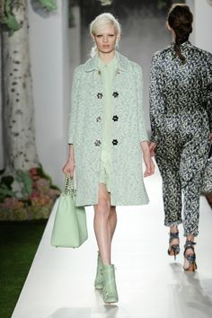 Mulberry Spring '13 // mint  Love me some mint!