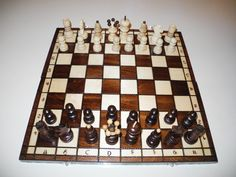Chess Chess board Chess set Birthday gift by EcoToy on Etsy, $39.99