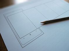 Outline is a set of 28 printable sketching and wireframing papers (in PDF) for seven mobile platforms
