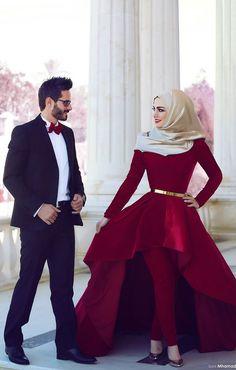 #hijabi #hijab #burgundy #dress