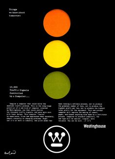 """Paul Rand – Westinghouse, """"Things we know about tomorrow"""""""