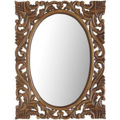 Bethany Carved Mirror