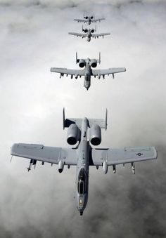 A/OA-10 Thunderbolt II - I'm torn, I think we could have a better world if we didn't waste so much time and money on the machinery of war, and yet, these planes are pretty cool: A10 Warthog, A 10 Thunderbolt, Aviation, Military Aircraft, A 10S, Ai