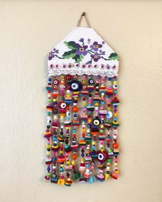 nazarlık, nazar, amulet, kanaviçe, crossstitch, handmade, design