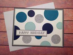 Handmade birthday card, homemade card, birthday card, masculine birthday card, handmade card,