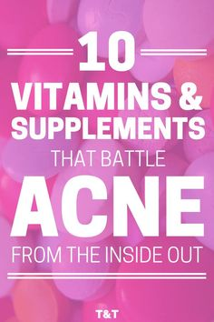 Acne treatment should start from the inside out. To finally get rid of acne for good, stop searching for topical remedies and treat the causes internally. These vitamins and supplements balance your hormones to get rid of hormonal and cystic acne. Acne Skin, Acne Scars, Oily Skin, Skin Oil, Acne Face, Sensitive Skin, Cystic Acne Remedies, Cystic Acne Treatment, Acne Treatments