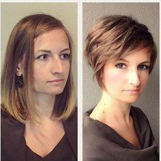 *** Titta på dessa damer glans! Korta frisyrer är underbara!