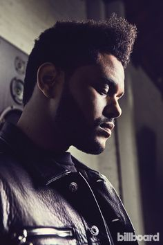 Photos from the Weeknd's Billboard cover shoot.