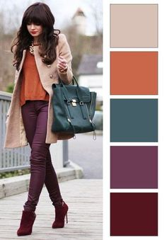Colour combinations fashion, color combinations for clothes, color combos. Colour Combinations Fashion, Color Combinations For Clothes, Fashion Colours, Colorful Fashion, Color Combos, Color Schemes, Womens Fashion Casual Summer, Womens Fashion For Work, Fashion Tips For Women