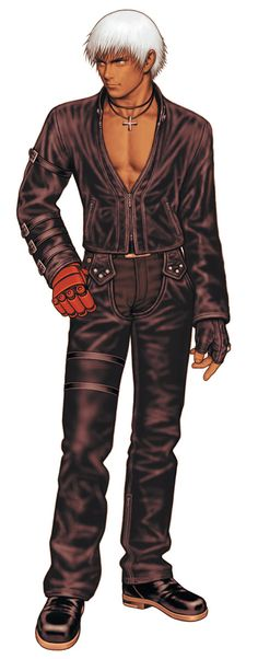 K' from King of Fighters 2000