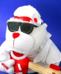 Polar Bear Plush Animal Singing Doctor Doctor Song White Guitar Video Below #GreatAmericanFunCorps #AllOccasion