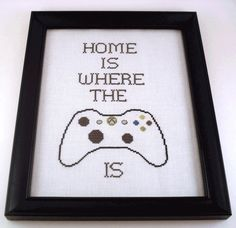 Makes me glad my hubby is not completely obsessed with video games.  Though I can think of a few guys who need this for their Man Caves.
