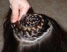 Peinados con Trenzas para niñas 2012 - 2013 - Paso a Paso 3