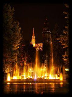 singing Fountain-Košice-Slovakia
